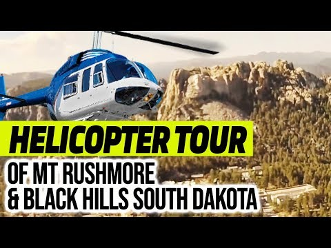 Helicopter Tour Of Mt Rushmore & Black Hills South Dakota