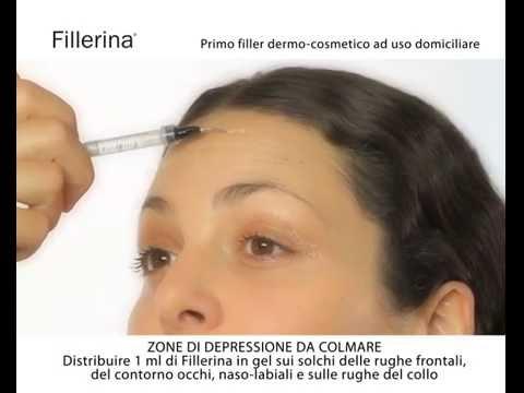 Trattamento dermo-cosmetico Fillerina (Viso) | Modalità d'uso