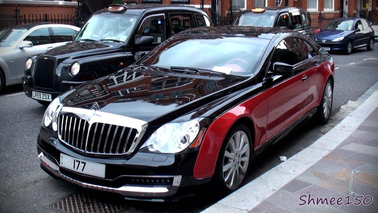 TWO Xenatec Coupes - Black/Red and White (Maybach 57S) - YouTube