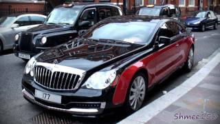 TWO Xenatec Coupes - Black/Red and White (Maybach 57S)