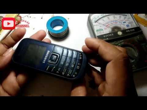 Menghidupkan Hp Samsung Yg Kenak Air Gt E1200m 100 Work 2017 Youtube