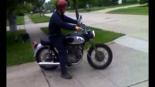'66 Honda CB450 Black Bomber