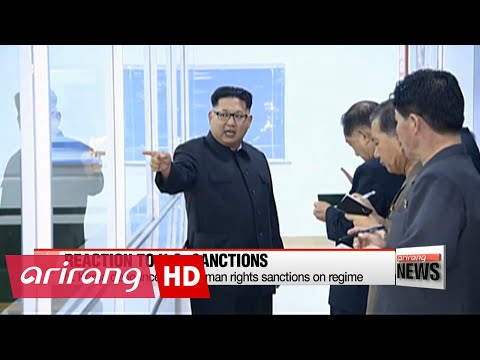Mixed reactions on U.S. human rights sanctions on N. Korea