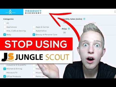 Why You MUST STOP Using Jungle Scout TODAY! Viral Launch Product Discovery Review