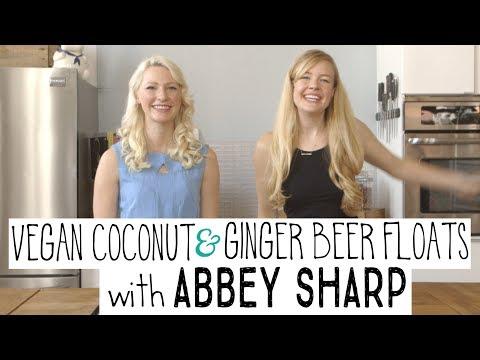 Vegan Ice Cream Float with Abbey Sharp