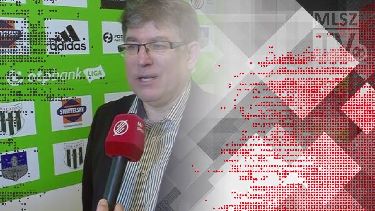 Edzői értékelések a Swietelsky Haladás - DVSC mérkőzésen