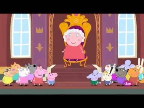 Peppa pig la reina en espa ol latino youtube for En youtube peppa pig