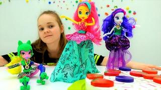 видео Игра Девшки Эквестрии: Конкурс Моды