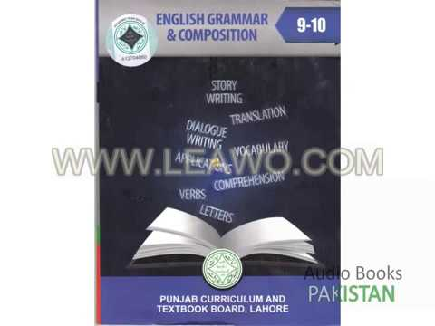 English Grammar And Composition 9 10 Chapter 1 Youtube