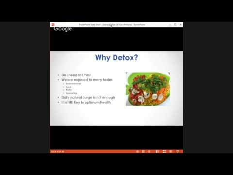 FREE Webinar: 7 Reasons to Detox, NOW!