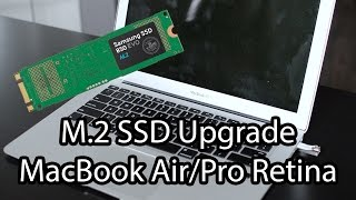 Upgrade Your Macbook Air  SSD with Any M.2 SATA Drive