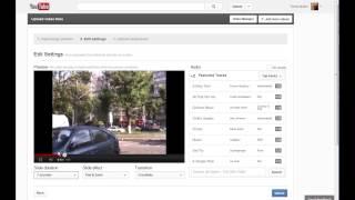 Как загрузить фото с компьютера на youtube