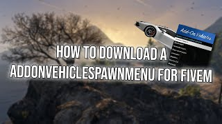 How to install fivem server vehicles peds weapons maps textures