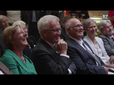So feierte die Badische Zeitung ihren 70. Geburtstag in der Markthalle