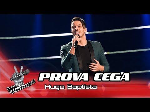 "Hugo Baptista - ""I Believe I can Fly""  Prova Cega  The Voice Portugal"