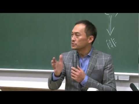 京都大学経営管理大学院「エンタテイメントビジネスマネジメント論」講師:渡辺 謙 氏 2011年12月14日