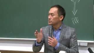 京都大学経営管理大学院「エンタテイメントビジネスマネジメント論」講師:渡辺 謙 氏 2011年12月14日 thumbnail