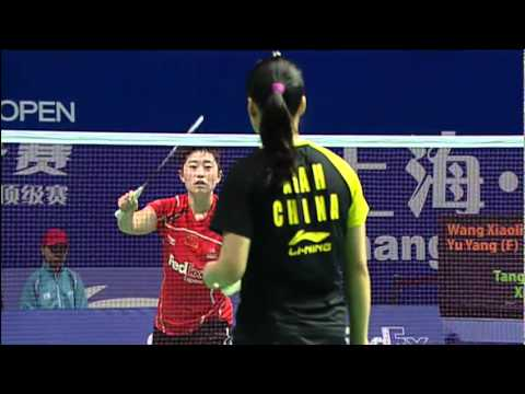 Final - WD - Wang X. / Yu Y. vs Tang J / Xia H. Li-Ning China Open 2011