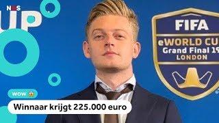 Nederlandse gamers in actie tijdens het WK FIFA