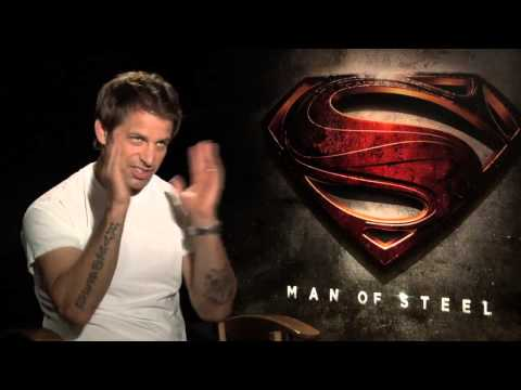 "Director Zack Snyder Interview for ""Man of Steel,"" Justice League, and Christopher Nolan"