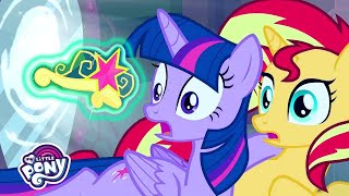 My Little Pony: Equestria Girls | Twilight Sparkle's Crown Gets Stolen | MLP EG Movie