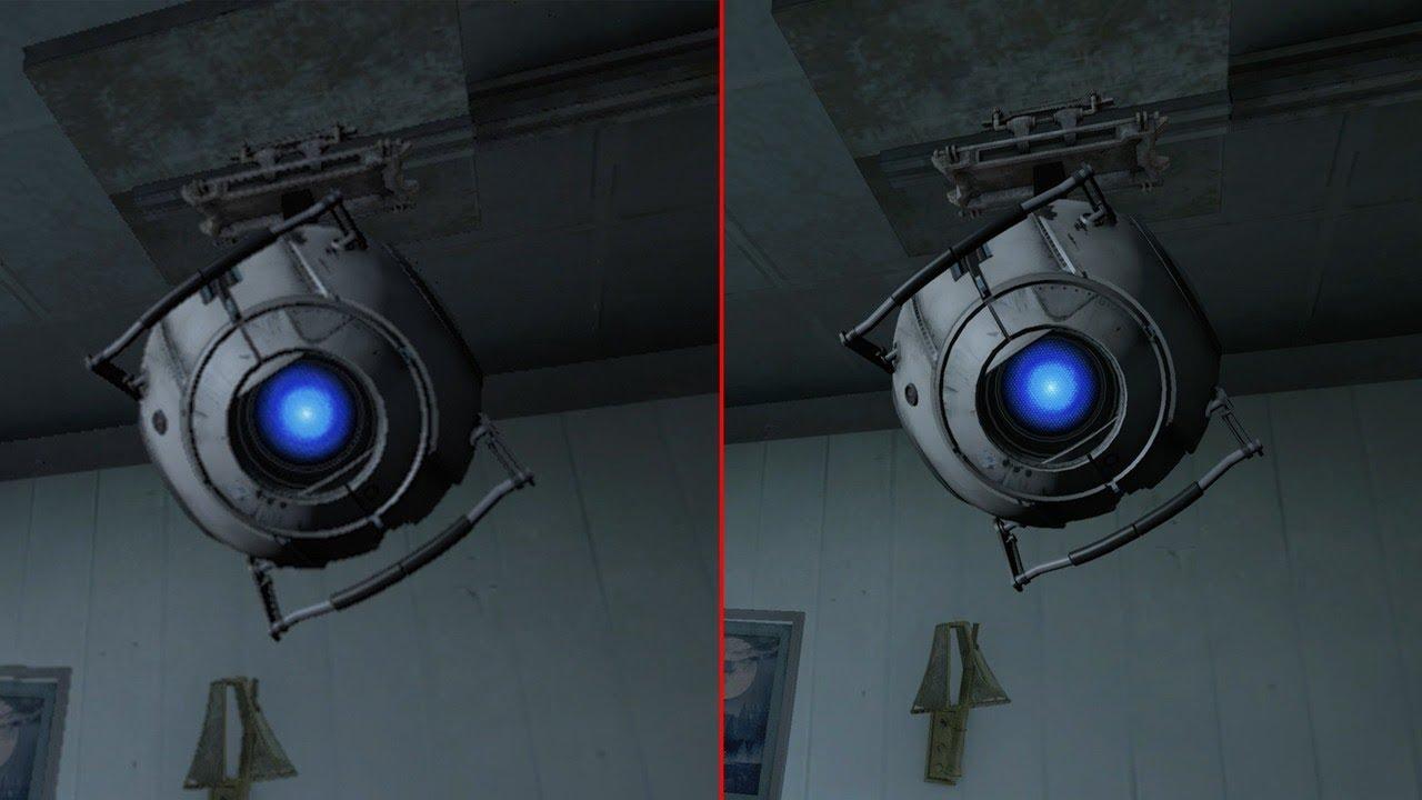 Portal 2 Graphics Comparison: Xbox 360 vs Xbox One X 4K ...