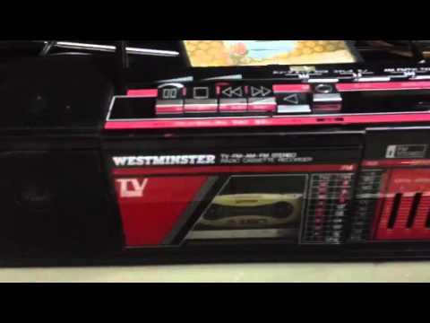 Radio Cassette westminster