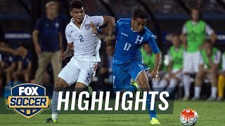 USA vs. Honduras - 2015 CONCACAF Gold Cup Highlights