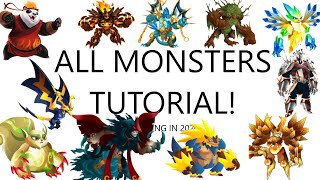 How To Breed All Monsters in Monster Legends Updated 2021 l Get Monsters By Breeding screenshot 4