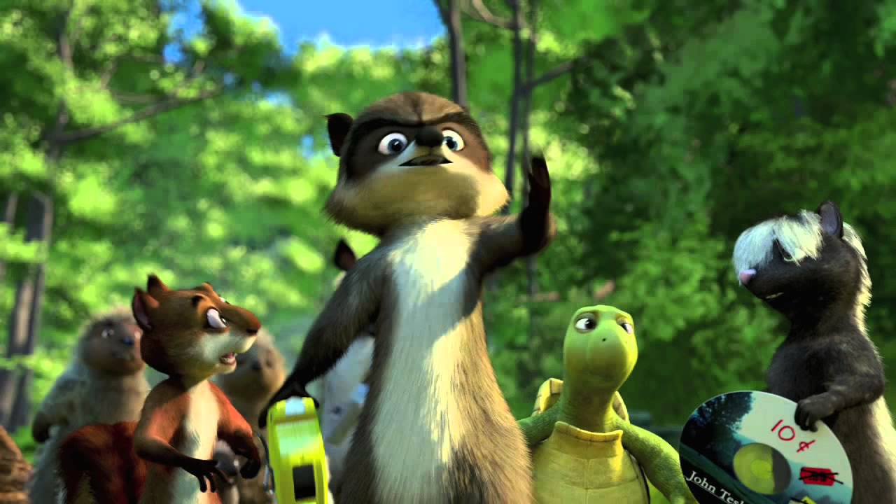 Over The Hedge 2006 Official Trailer Youtube