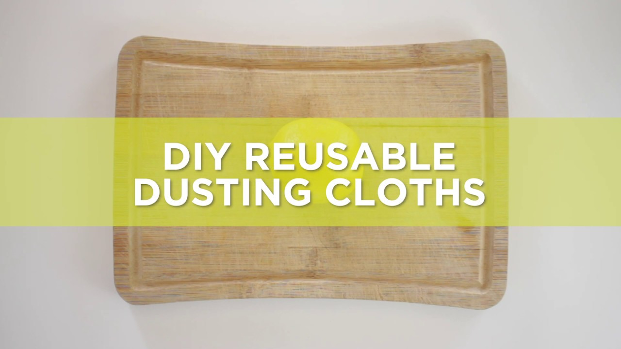 How to make your own reusable dusting cloths - Polti - Polti