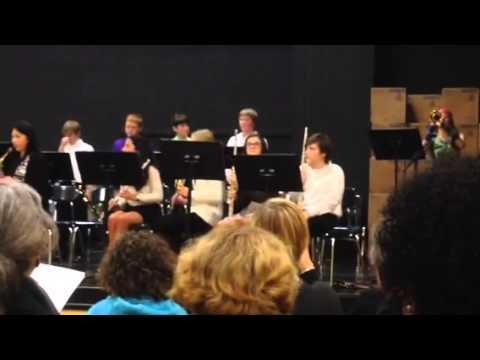 Cedarbrook Middle School Winter Concert 4-Dec-2014