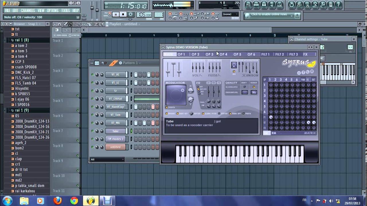 Fl Studio 11 Mac Youtube