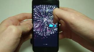 iOS How to Send Fireworks, Lasers, Balloons, Confetti, Lasers, Shooting Star iMessage (iPhone 7)