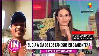 Christian Sancho, aislado por el coronavirus y ¿soltero o en pareja?