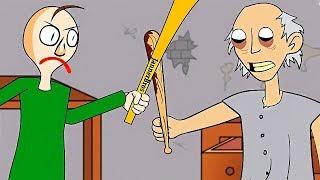 GRANNY VS BALDI'S ANIMADO! React