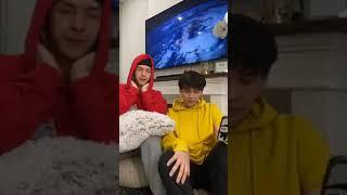 Nửa đêm Nguyễn Trần Trung Quân và Denis Đặng livestream trò chuyện cùng fan