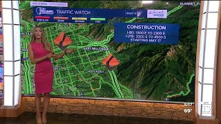 Major construction project starts Monday in Salt Lake area