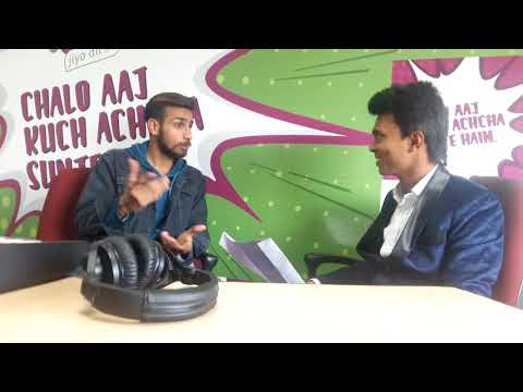 Interview Session  with Aapke Apne Rj Sameer at 94.3 My Fm Radio station| Rjying| Entertainment Fun|