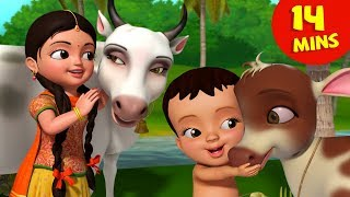 Meri Gaiya Aati Hai | Hindi Rhymes Collection for Children | Infobells