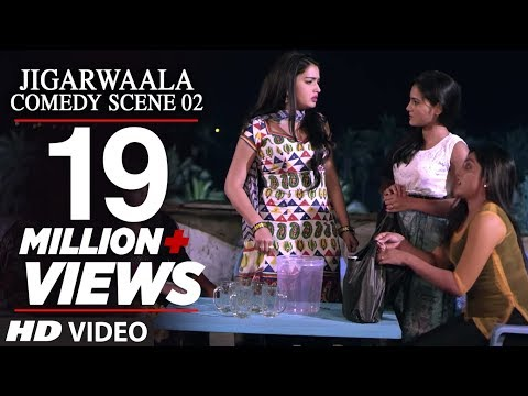 JIGARWAALA - Comedy Scene [ 02 ] - Dinesh Lal Yadav & Amrapali