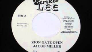 ReGGae Music 428 - Jacob Miller - Zion Gate Open [Striker Lee]