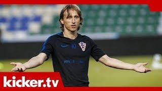 Kroatien startet in Spanien - Rakitic schwärmt von Modric | kicker.tv