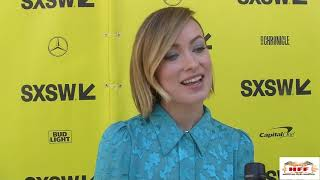 A Vigilante Red Carpet Interviews with Olivia Wilde & Sarah Dagger Nickson at SXSW