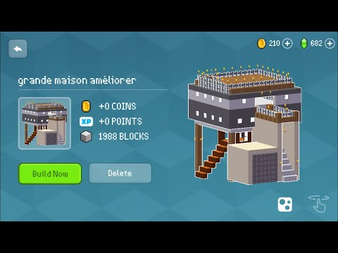 Block Craft 3D : Building Simulator Games For Free Gameplay #319 (iOS & Android) | Modern Mansion