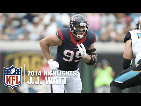 J.J. Watt Sack Compilation | NFL 2014 Highlights