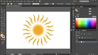 How to Draw a Sun in Adobe Illustrator