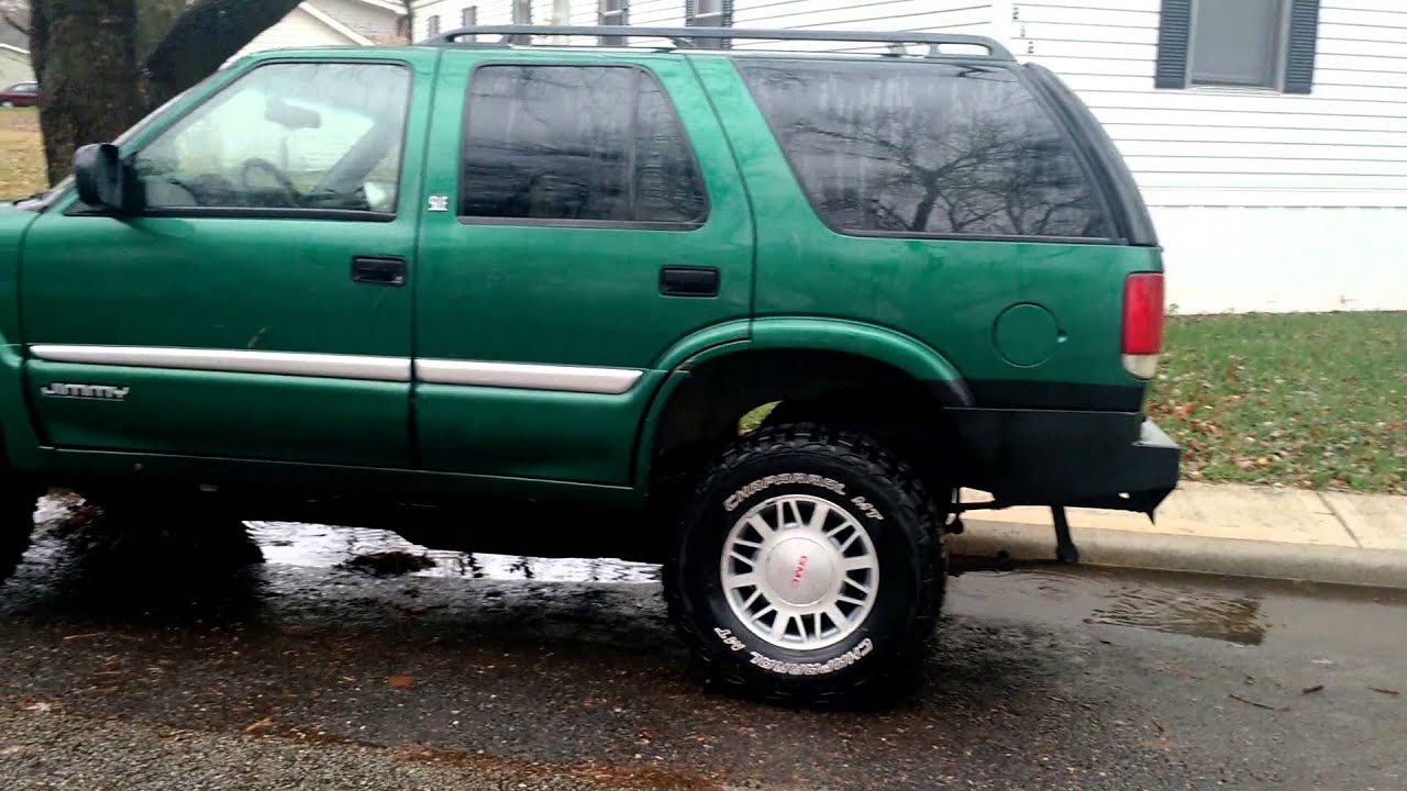 hight resolution of 99 jimmy 3 body lift custom bumpers