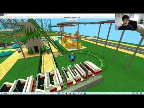 Theme Park Tycoon² - Ep 2 -  Visite de parcs et construction de manège à sensation.
