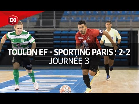 J3 : Toulon Elite Futsal - Paris Sporting Club (2-2), le résumé